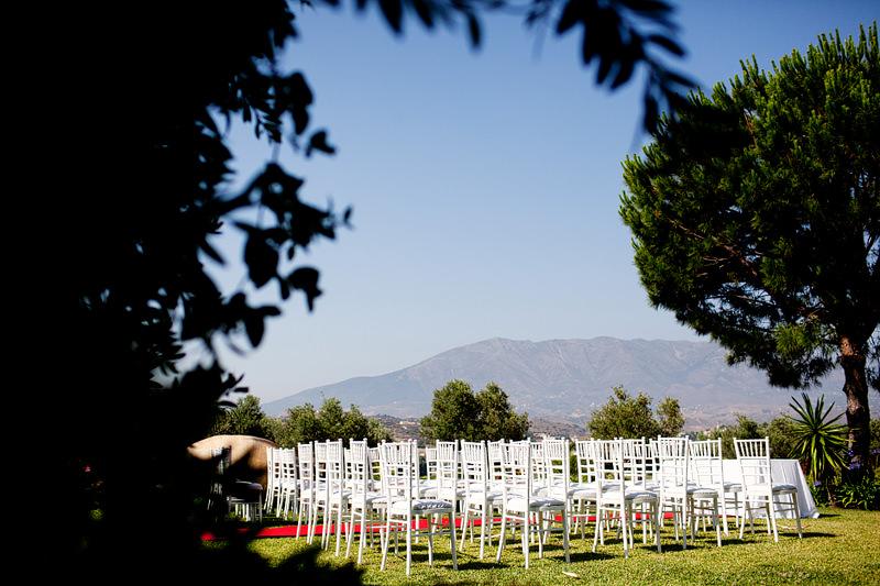 Outdoor Wedding Ceremony Spain