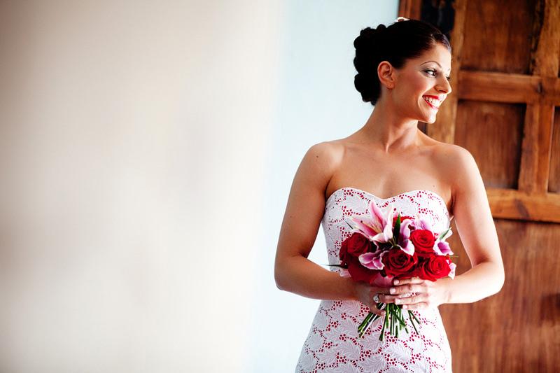 Bridal Portrait Spanish Theme