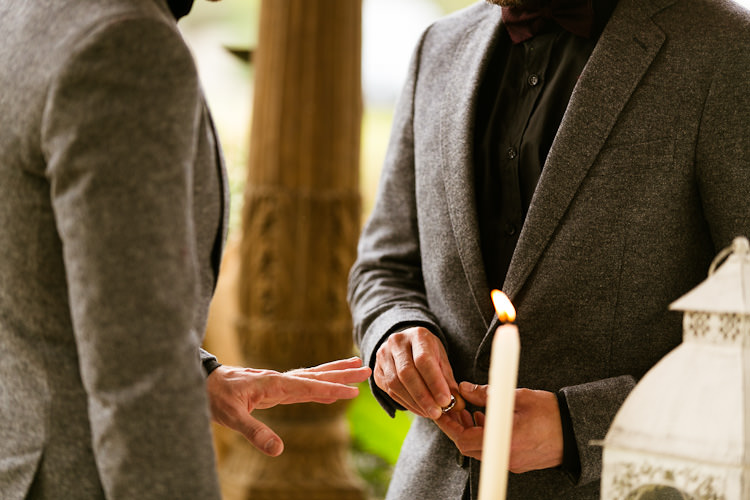 Wedding Ceremony at Rancho del Ingles