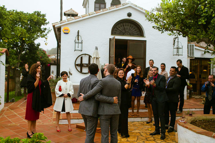 Reception at Rancho del Ingles