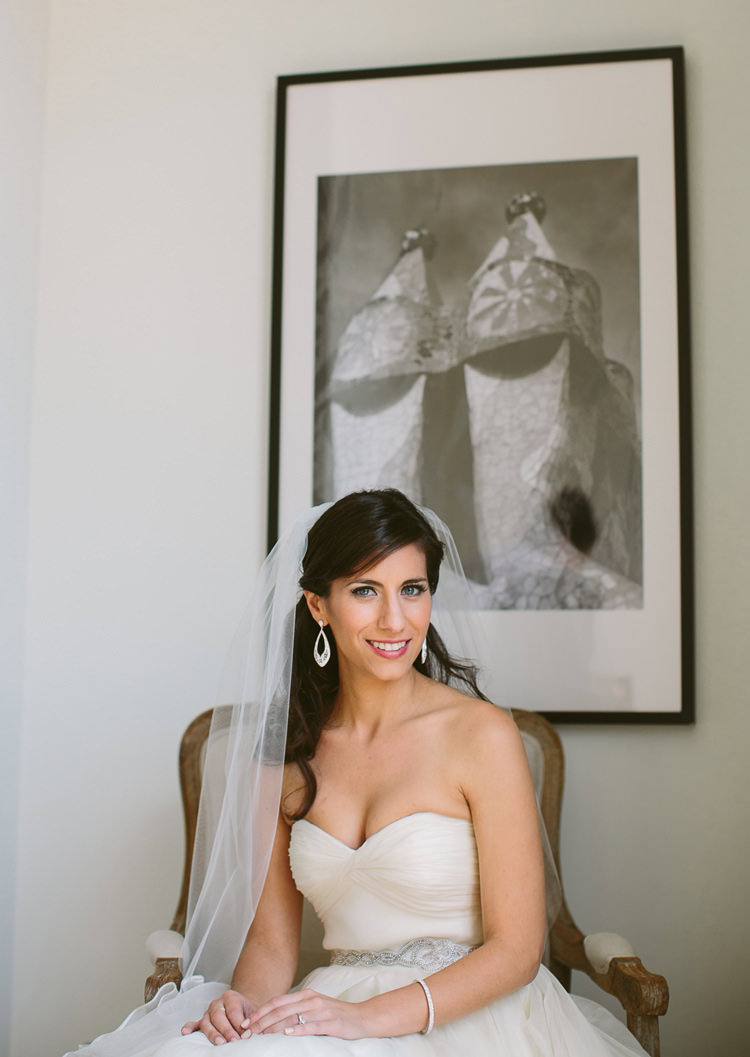 Bridal Portrait in Barcelona