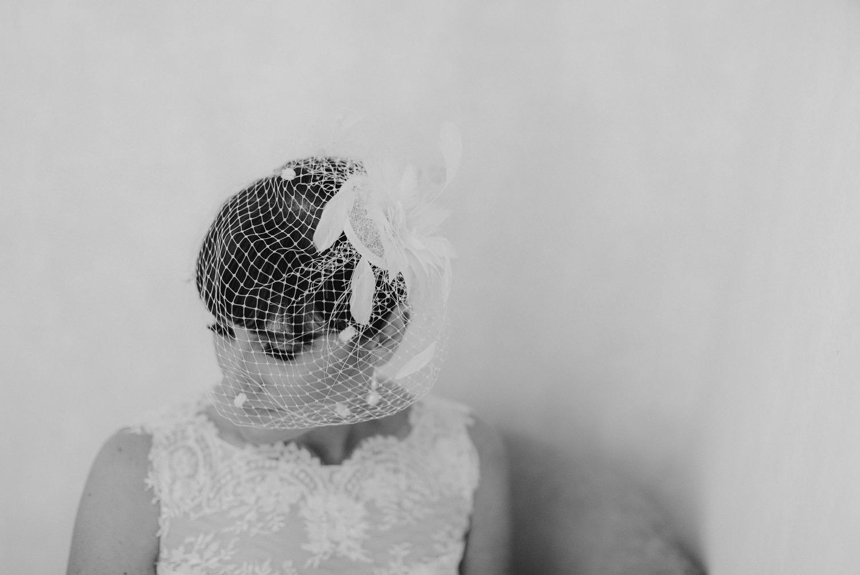 Bridal Portrait at The Caleta Hotel