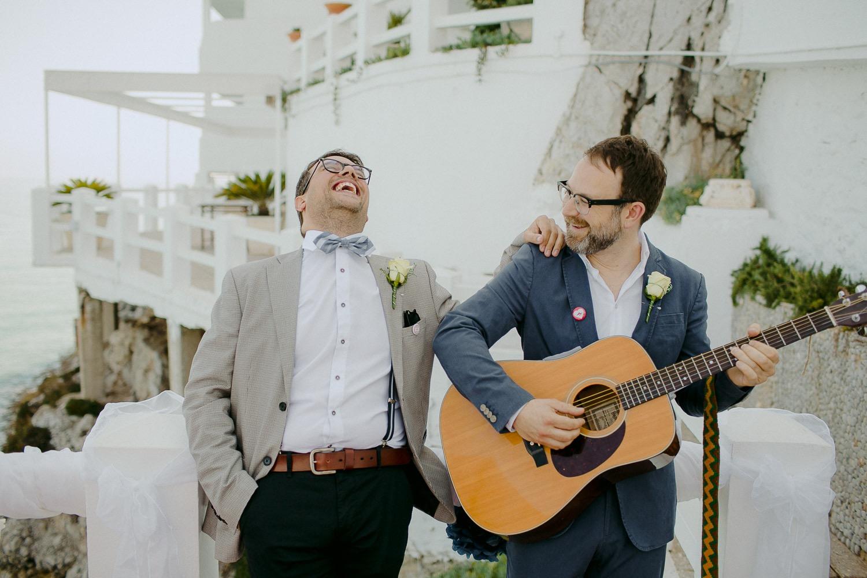 The Caleta Hotel Wedding Ceremony