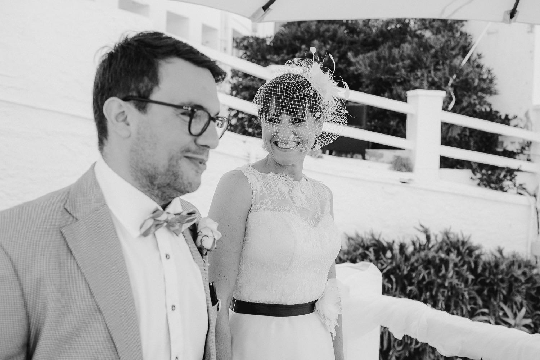 Wedding ceremony at The Caleta Hotel Gibraltar