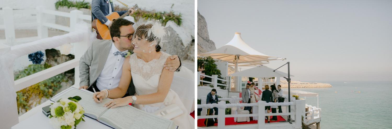 the caleta hotel gibraltar wedding ceremony