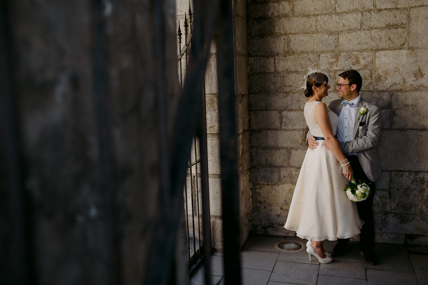 Gibraltar Elopement Photos in the Old Town