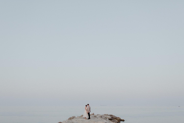 Gibraltar Beach Wedding