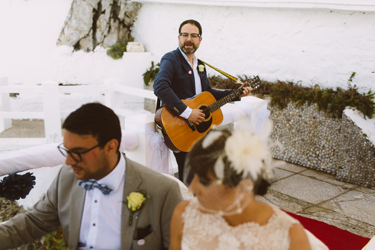 Elopement in Gibraltar