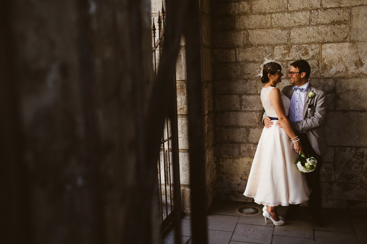 Wedding Couple in Gibraltar