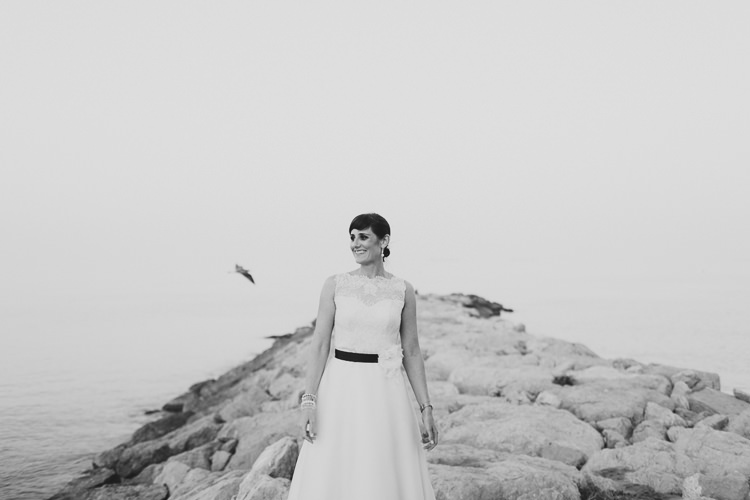 Beach Wedding Photo in Gibraltar