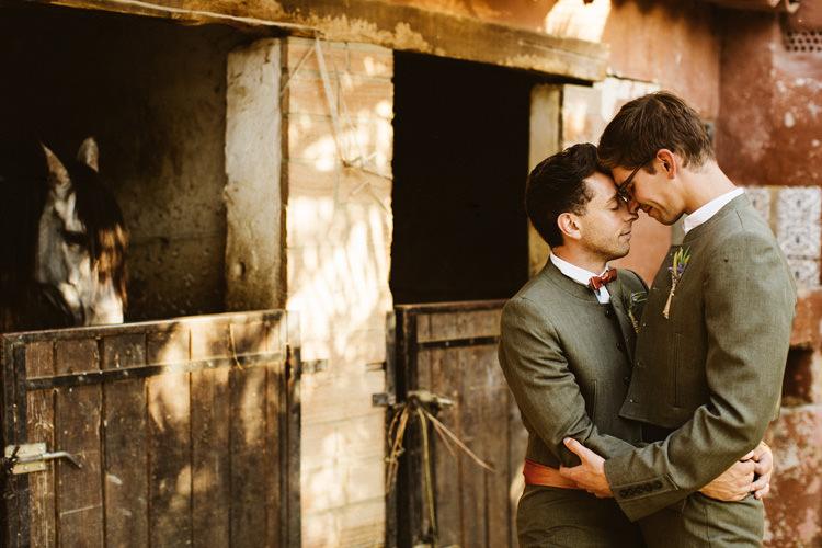 Gay Wedding Portraits