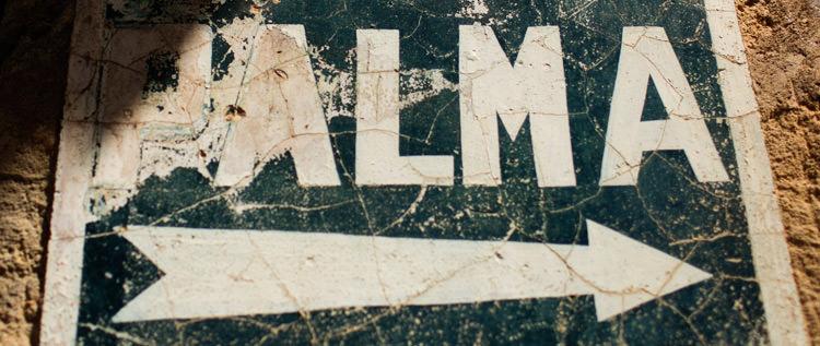 Mallorca Palma Sign