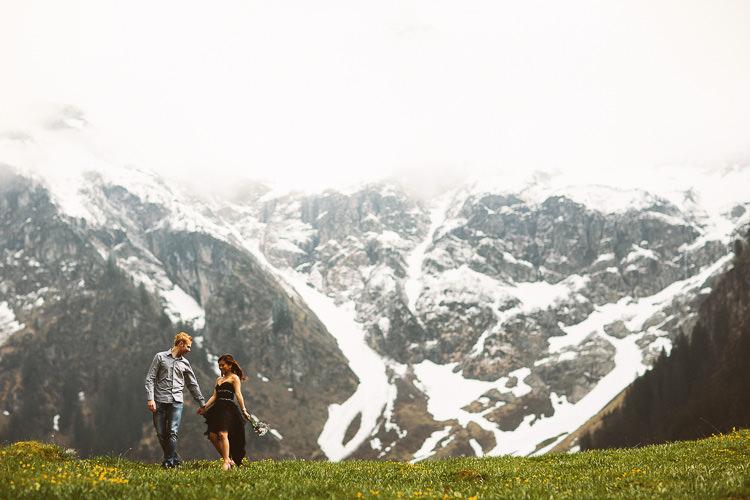 The Alps Wedding Switzerland