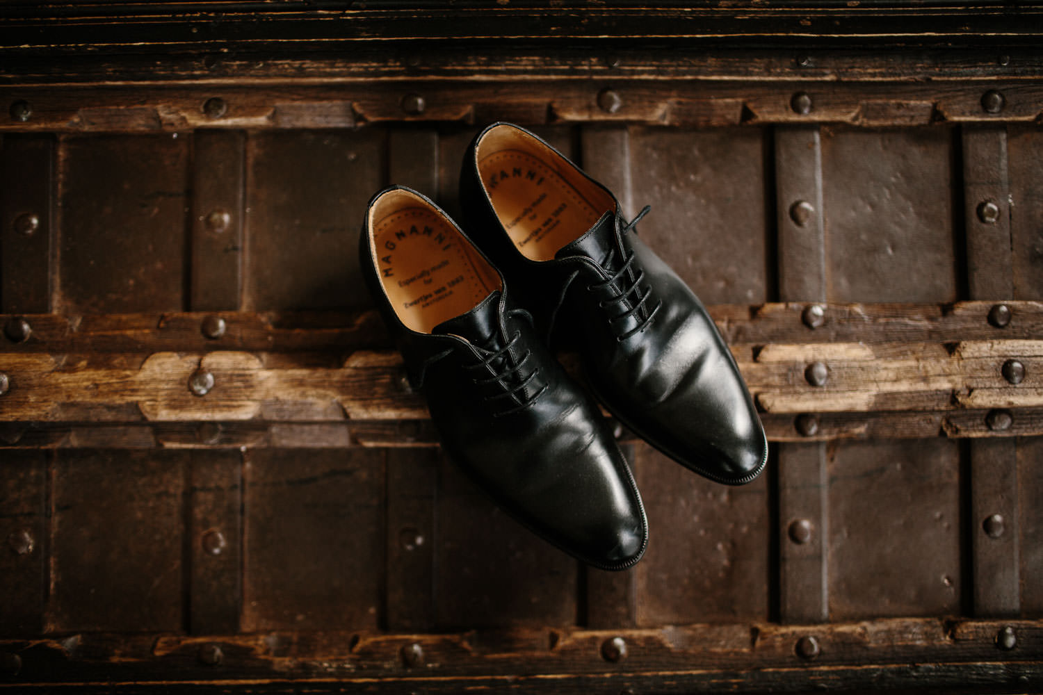 Magnanny Wedding Groom Shoes