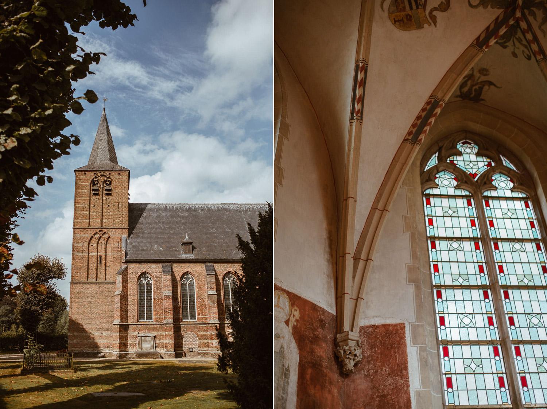 Dorpsstraat Hall Hallse Kerk