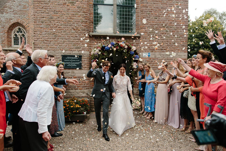 Dorpsstraat Hall Hallse Kerk huwelijk