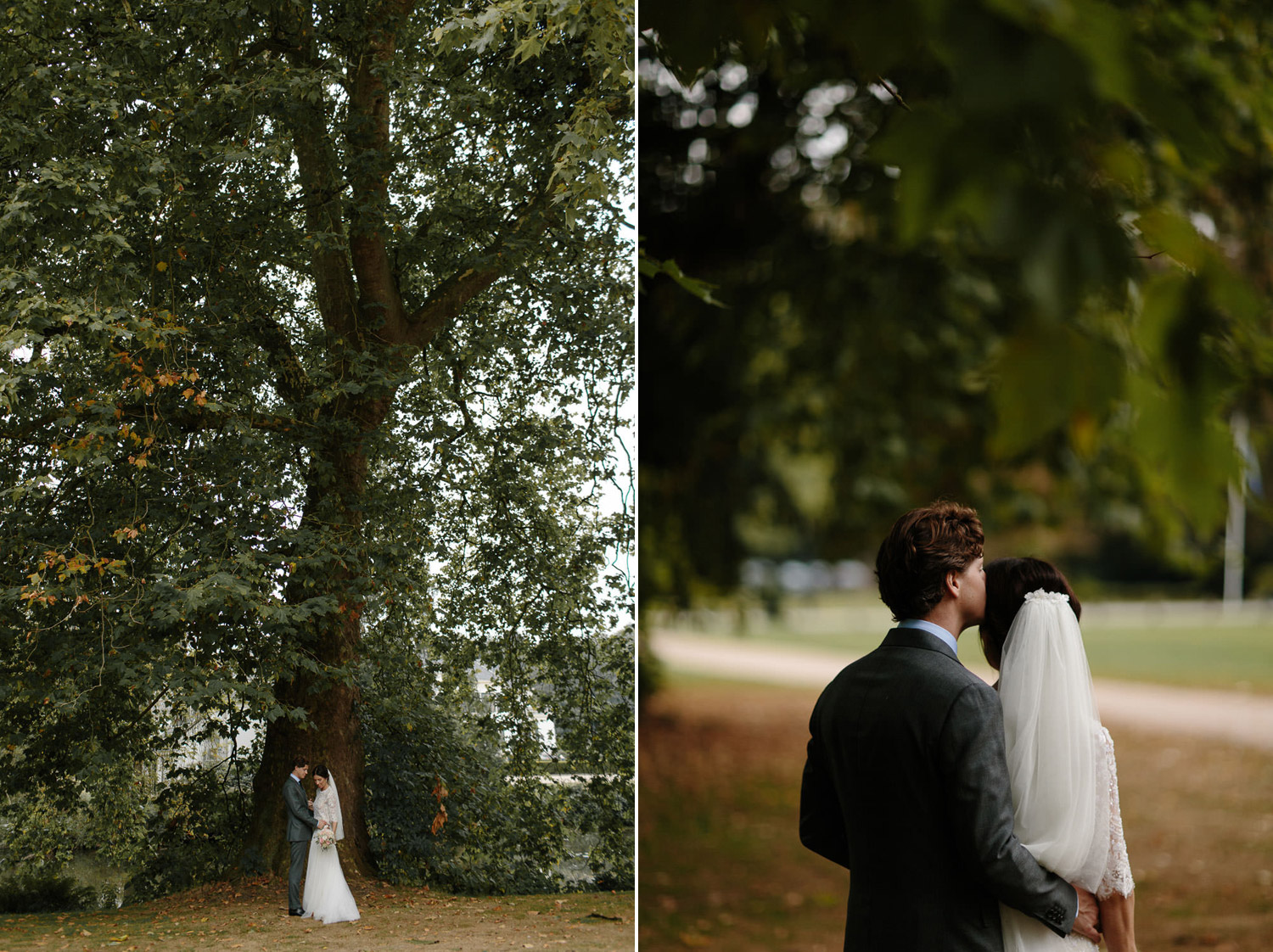 Kasteel Engelenburg Wedding Portraits of Bride and Groom