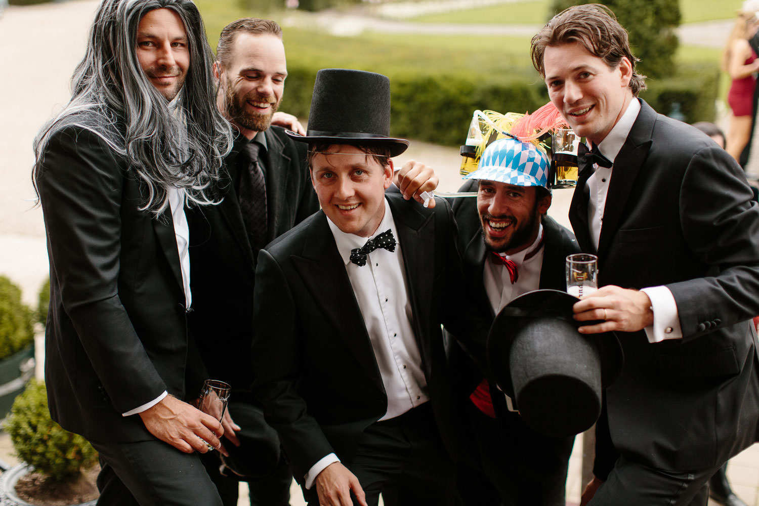 Groomsmen at Kasteel Engelenburg Wedding