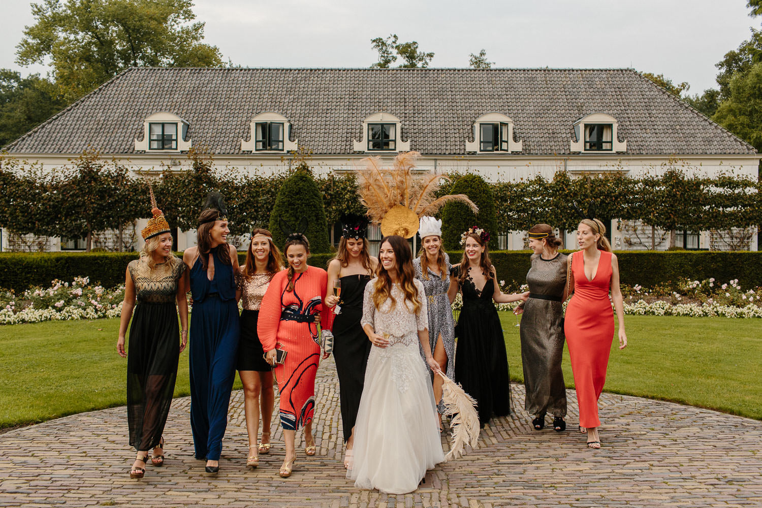 Bridesmaids at Kasteel Engelenburg Wedding
