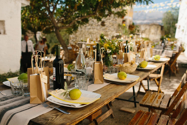 Los Castillejos Wedding Details