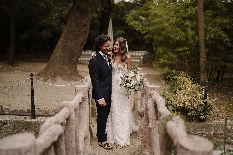 Wedding Portrait at Hacienda Nadales Malaga Spain