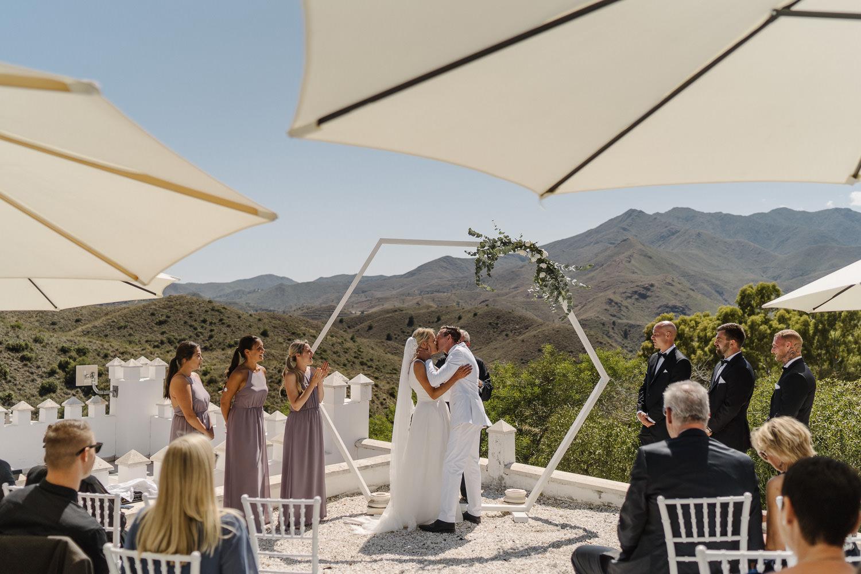 Fort Ingles Wedding Ceremony