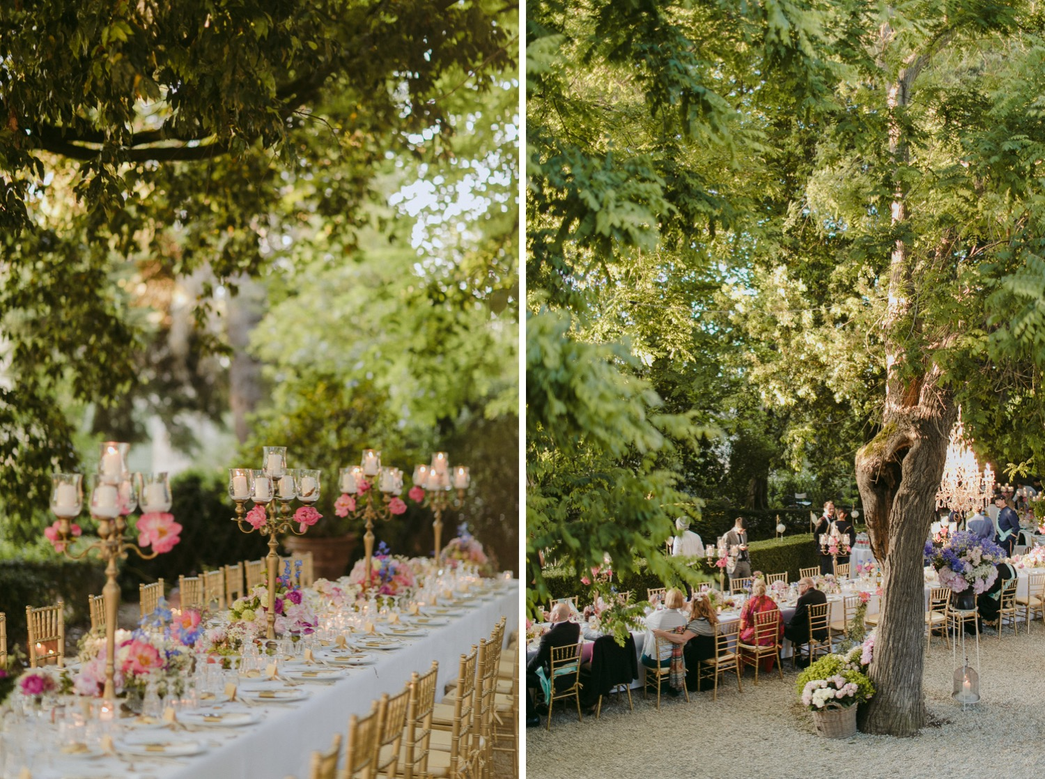 Reception details and tabletop flowers