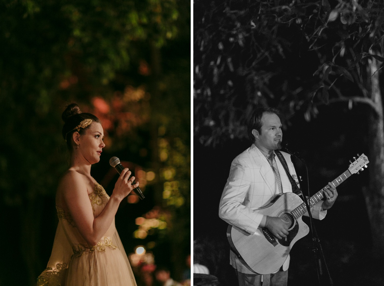 Musicians at Italy wedding